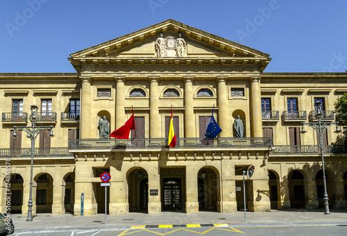 Pamplona Navarra government palace building