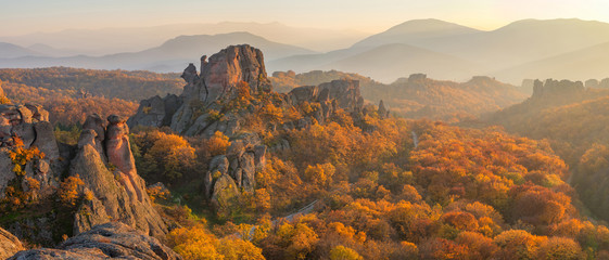 Fototapeta zachód słońca w Bułgarii