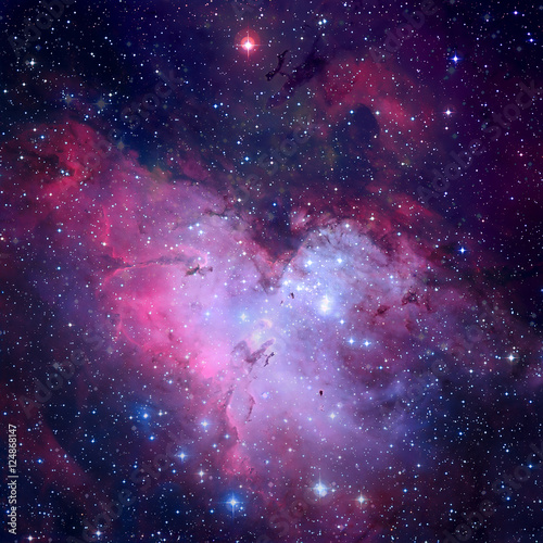 Deurstickers Nasa The Eagle Nebula. Elements of this image furnished by NASA.