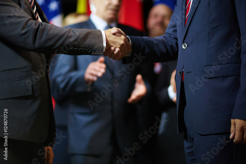 Photo  Expressing trust and respect