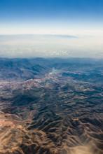 Widok Z Samolotu Na Horyzont I Górskie Szczyty - Atlas, Afryka