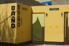 Bano And Ducha In Yellow