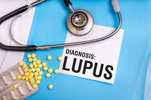 Lupus Word Written On Medical ...