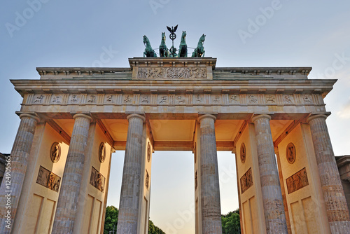 Photo  Brandenburg Gate, Berlin