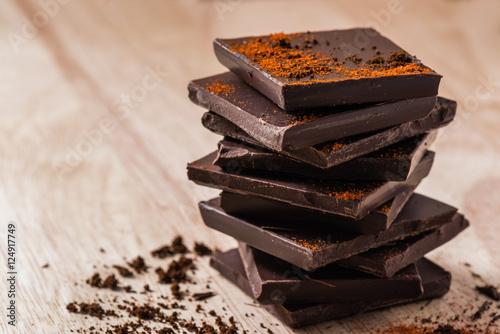 Dark Chocolate Stack