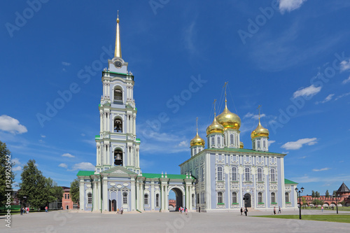 Spoed Foto op Canvas Bedehuis Holy assumption Cathedral, Tula, Russia