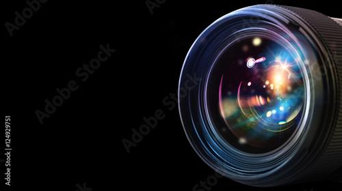 Fotografía  Professional camera lens