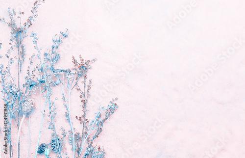 Fotobehang Bloemen Light Floral Background