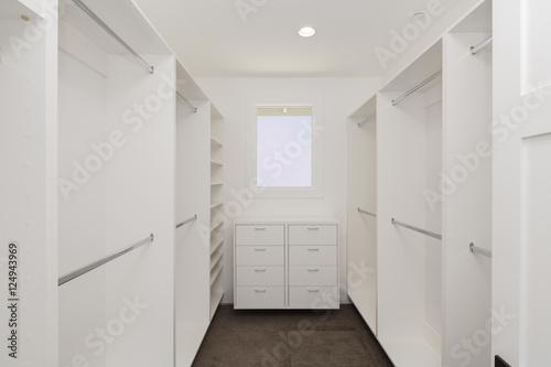 empty walk in closet. Big Empty Walk In Wardrobe / Closet Luxurious House.