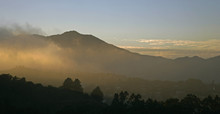 Mt-tam Fog Sunset Pano