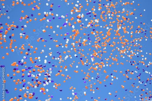 Fototapeta Balloon Filled Sky obraz na płótnie