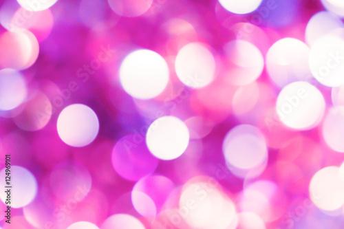 sweet pink bokeh light background - 124969101