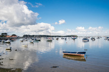 A Calm Scene Of Poole Harbour ...
