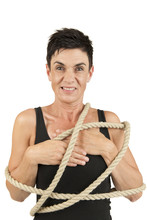 Woman Tied Up More Sinister Lo...