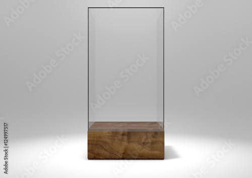 Fotografia Glass Display Case