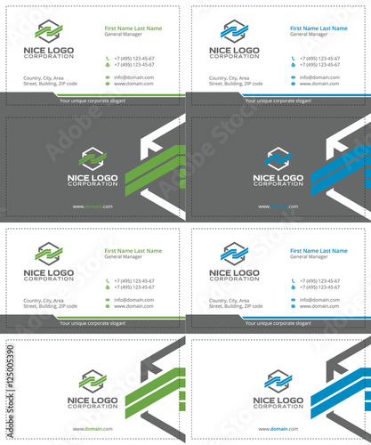 Cargo colored box business cards gray green and blue colors buy cargo colored box business cards gray green and blue colors reheart Image collections