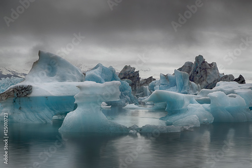 Jökulsárlón, Gletschersee in Island, Eis