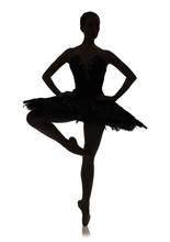 Ballerina Silhouette Making Ba...
