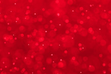 Red Festive Christmas Elegant Abstract Background