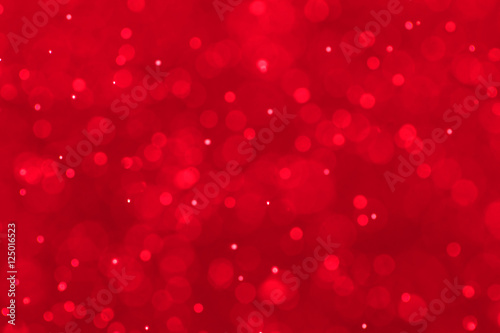 plakat Red festive Christmas elegant abstract background