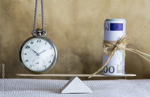 Zdjęcie XXL Czas to koncepcja pieniądza