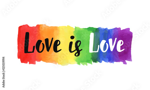 Love is love Canvas-taulu