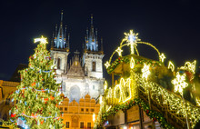 Christmas Market In Prague At ...
