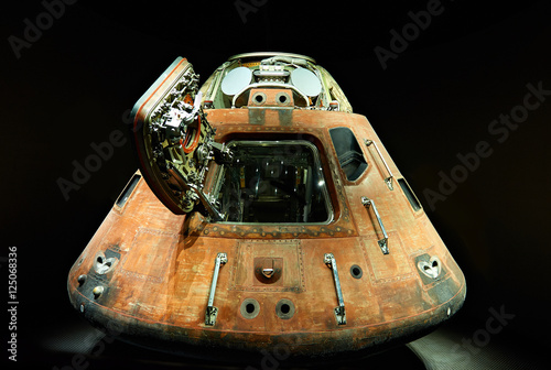 Aluminium Prints Nasa space ship cockpit