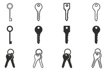 Key Icon Set.