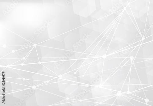 Obraz technology network background - fototapety do salonu
