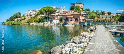Photo Bolsena's lake in Italy