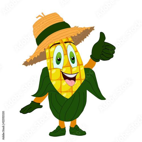 Fotografie, Obraz  Радостная кукуруза