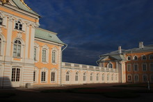 Front Of Peterhof Palace / Russia  (details Of 3 Kinds Windows)