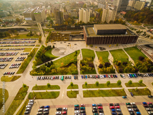 Katowice Miasto spodek centrum kultury