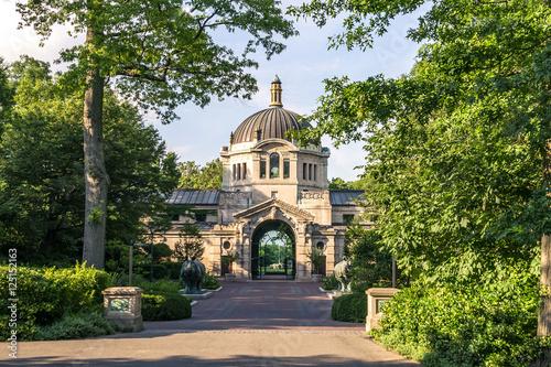 Fotografia  Wejście do centrum zoo Bronx
