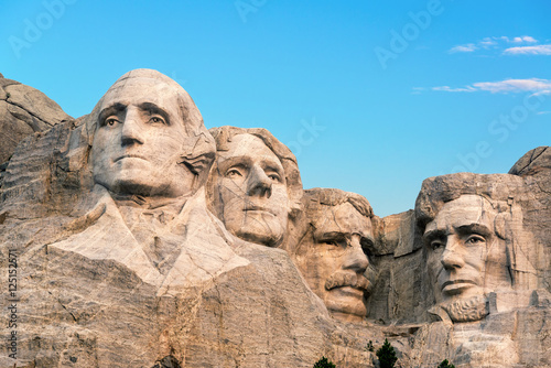Mount Rushmore Closeup Canvas-taulu
