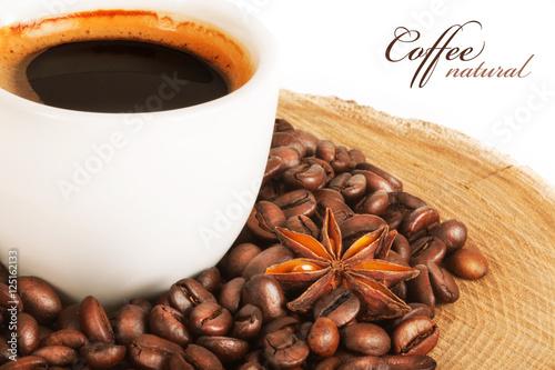 Cadres-photo bureau Café en grains coffee beans