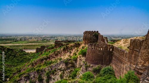 Fotografie, Obraz  Panorama of Rohtas fortress in Punjab, Pakistan