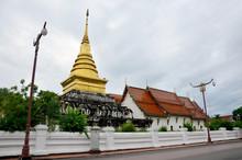 Wat Phra That Chang Kham Worawihan In Nan, Thailand