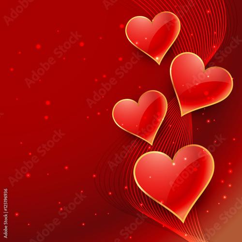 beautiful-hearts-background