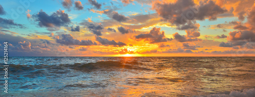 Canvas Prints Sea sunset Sea