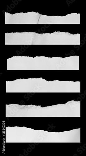 Fototapeta Torn paper background obraz na płótnie