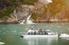 Boat Tour Watching Glacier