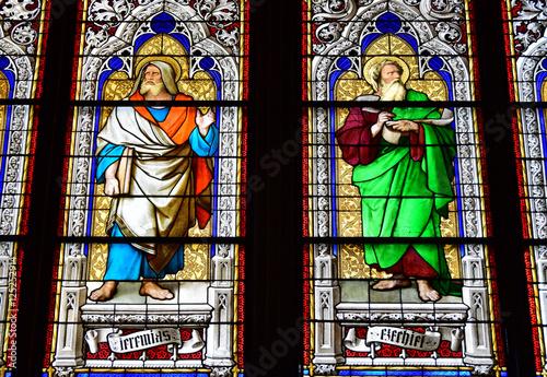 Photo  Neogotische Fenster  im Kölner Dom