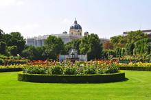 The Volksgarten (People's Garden) In Vienna