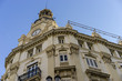 Traditional architecture of the center of the Spanish city of Ca