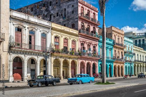 Poster de jardin Havana Old Havana downtown Street - Havana, Cuba