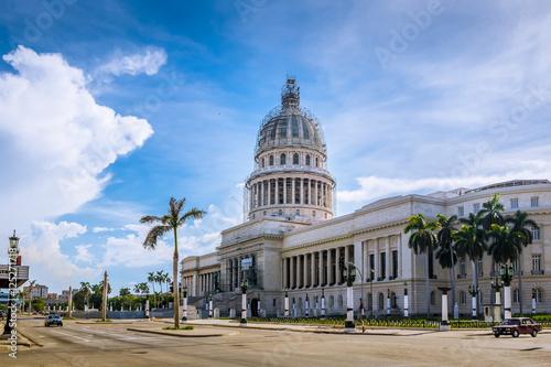 Poster de jardin Havana The Capitol (El Capitolio) building - Havana, Cuba