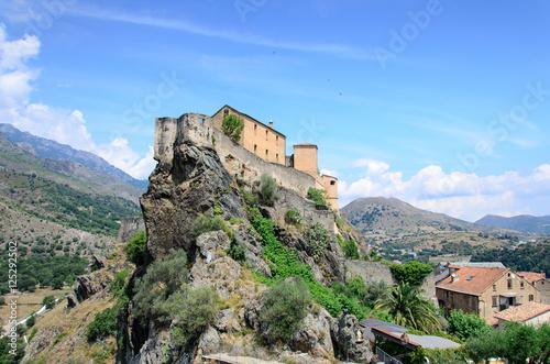 Fotografie, Obraz  Corte on Corsica.