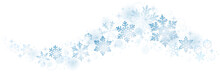 Swirl Of Christmas Snowflakes ...